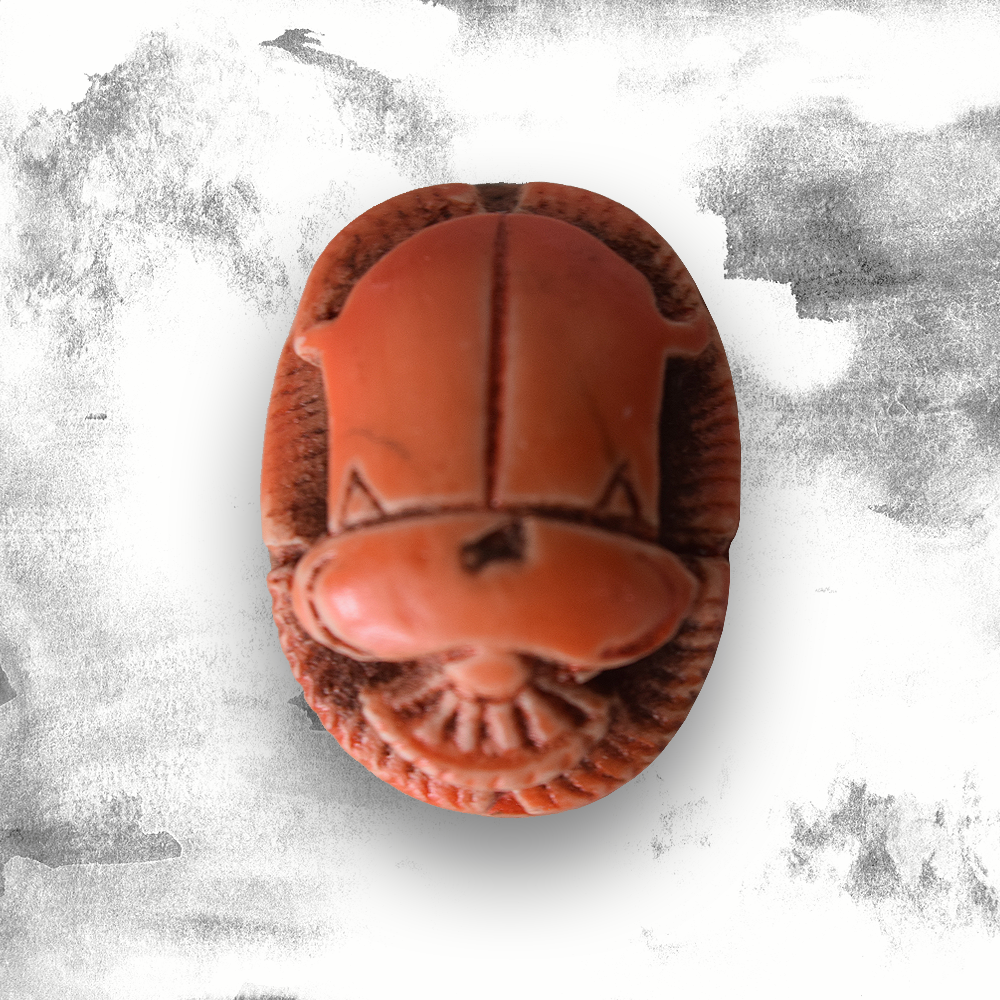 Scarab Miniature - Orange