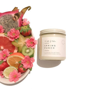 Spring Punch Soy Wax Candle