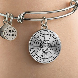 Personalized Natal Chart Bracelet
