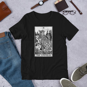 Tarot card The Empress Unisex T-Shirt