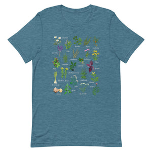 Medicinal Herbs & Spices Unisex T-Shirt