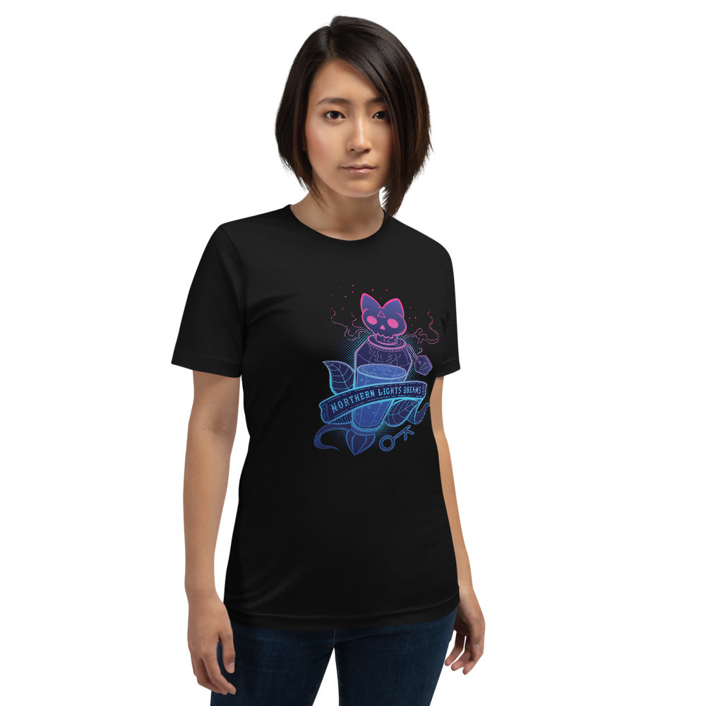 Northern Lights Dreams Unisex T-Shirt