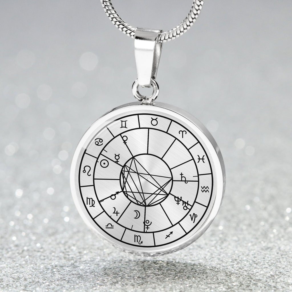 Personalized Natal Chart Necklace