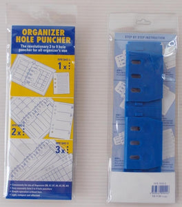 Portable Multi-Purpose Hole Puncher for Refillable Diary Planner