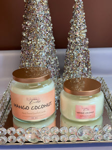 Mango Coconut Scented Candle