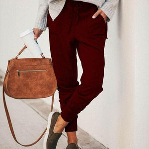 Pantalon Cosy - Rouge