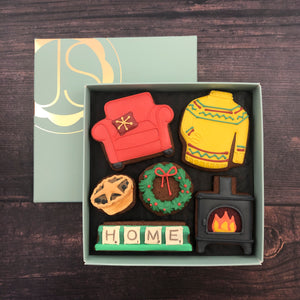 Staying Home for Christmas Gift Box