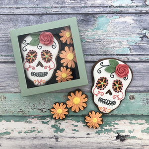 Juliet Stallwood Cakes & Biscuits-Day of the Dead Gift Box