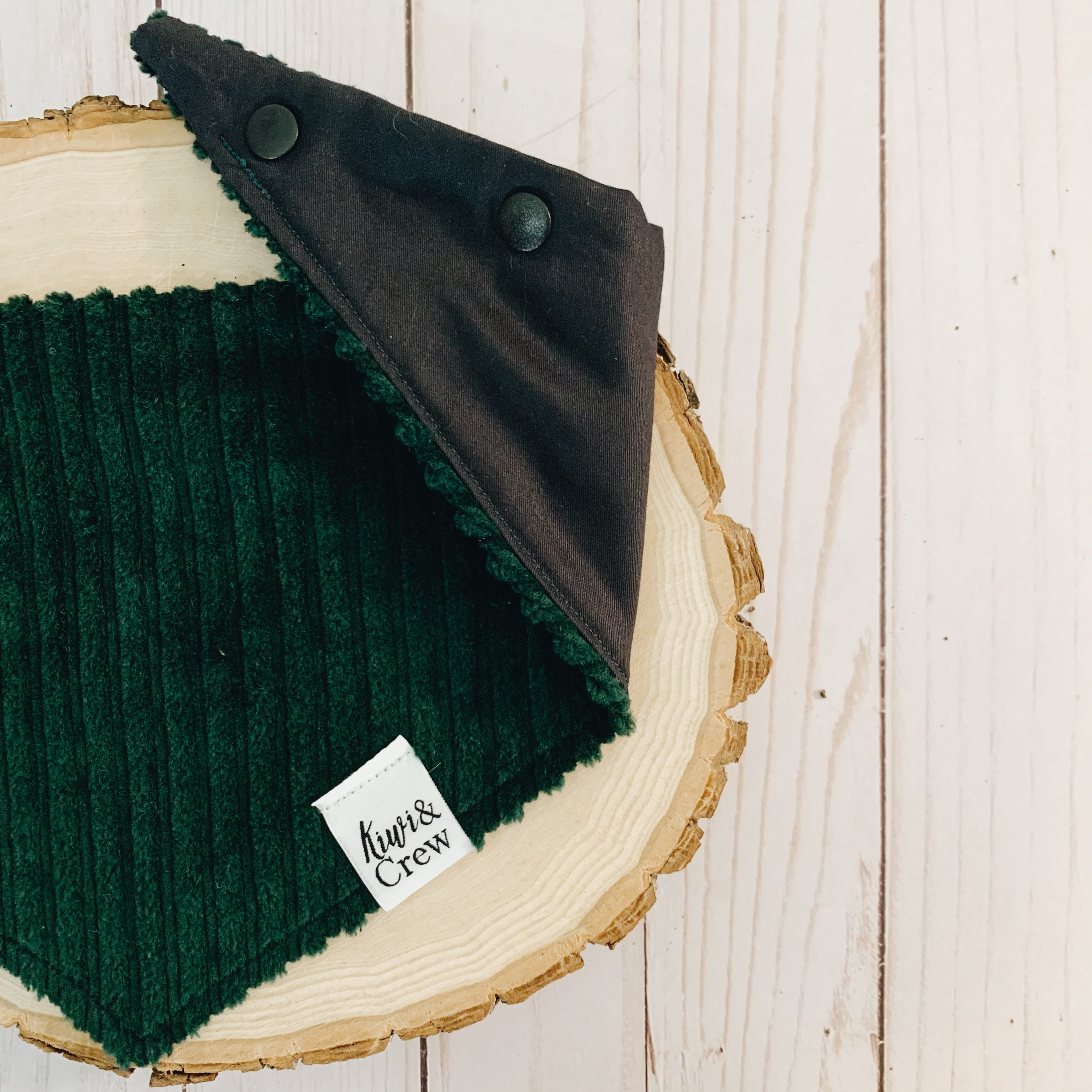 """Evergreen Dreams"" Corduroy Bandana"