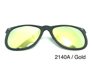 Open image in slideshow, TR90 Mirror Polarized Clip On 2140A
