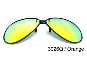 Open image in slideshow, TR90 Mirror Polarized Clip On 3026Q