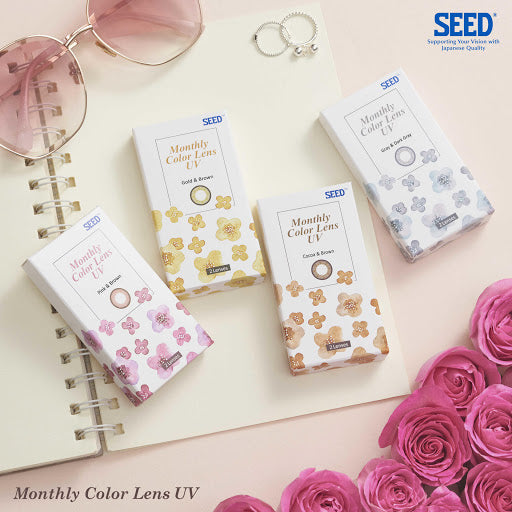 SEED Color UV ( Monthly / 2 Lenses )