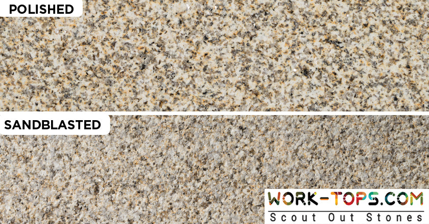 Different Finishes of Natural Stones