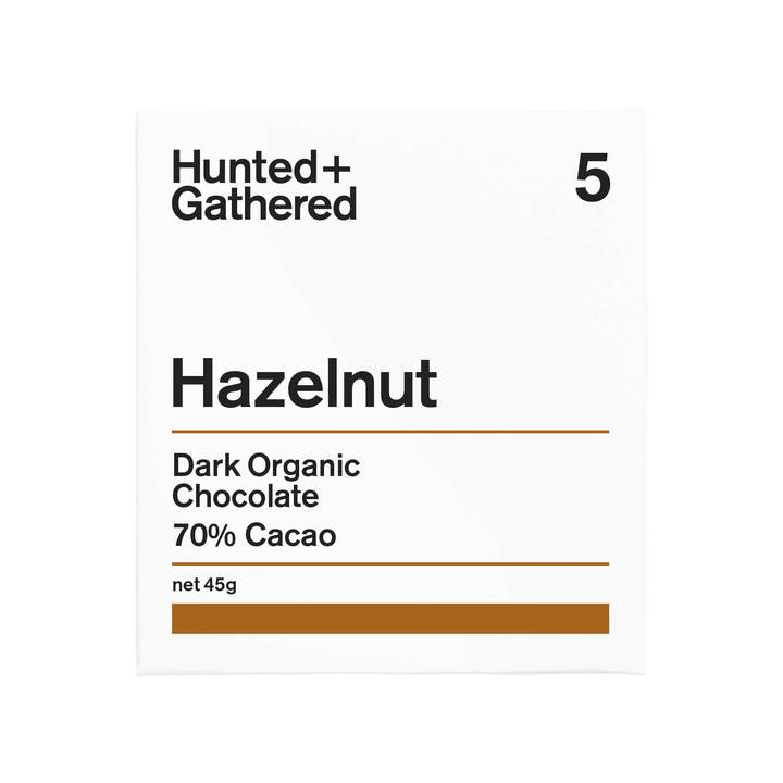 Hunted + Gathered Chocolate - Hazelnut