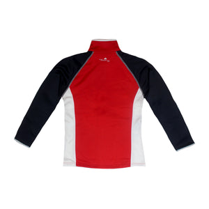 Ladies Poly-flex RED, WHITE & BLUE Full Zip Jacket