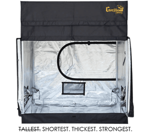 GORILLA GROW TENT - 5' x 5' - SHORTY