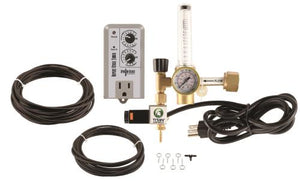 Titan Controls - CO2 Regulator Deluxe Kit with Timer