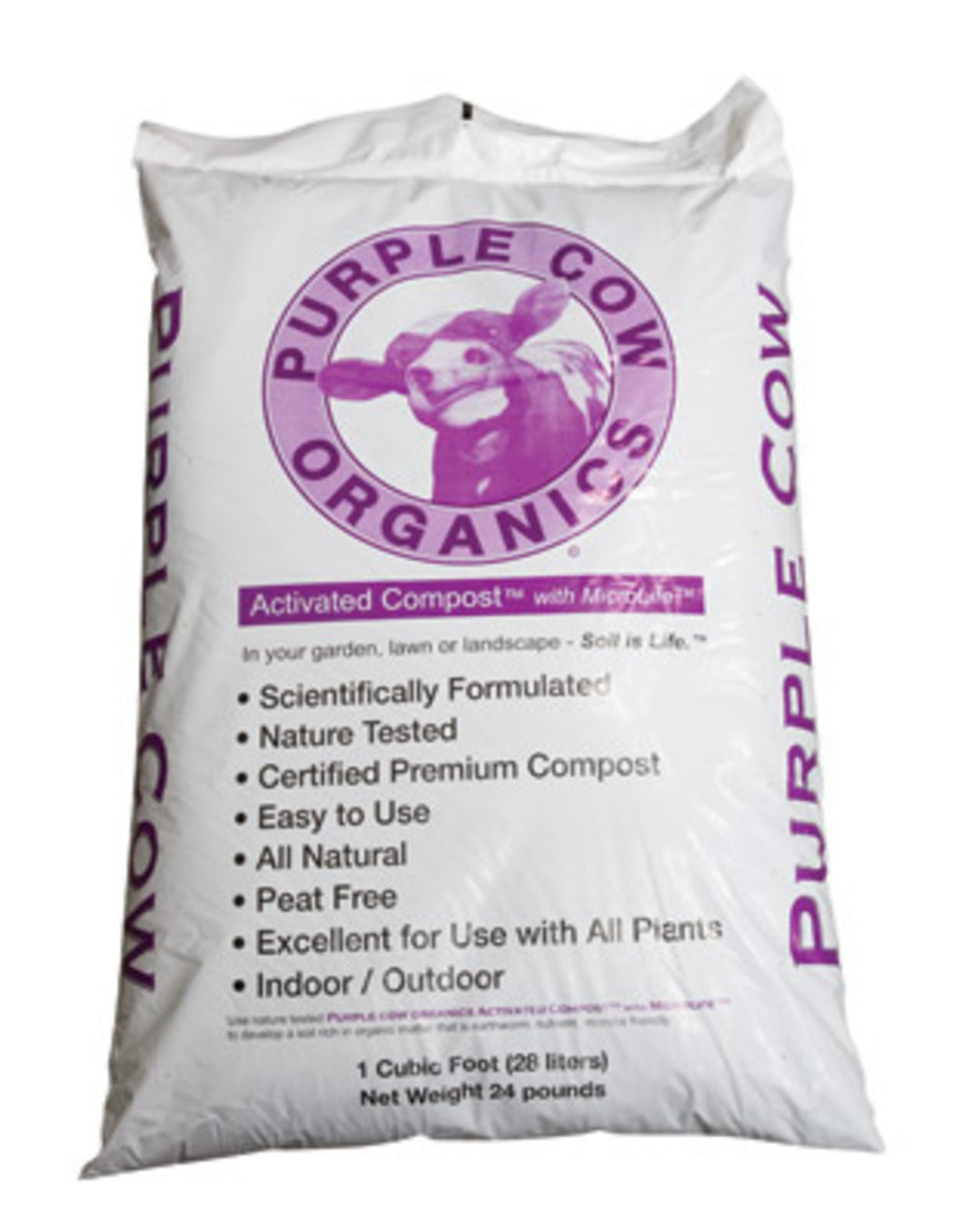 Purple Cow - Activated Compost 1cf Bag