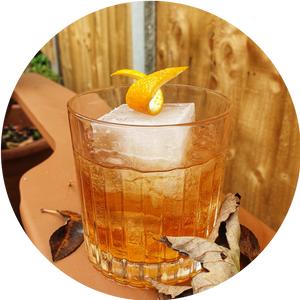 Maple Bonfire Old Fashioned