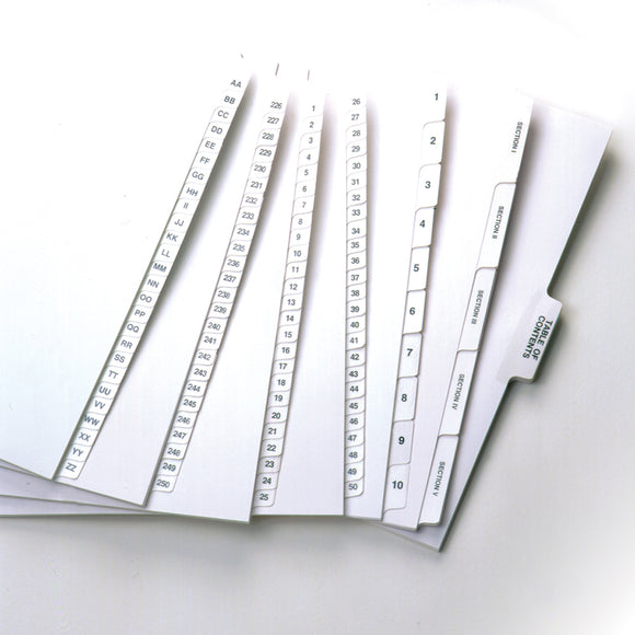 Stock Index Tabs