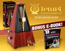 Load image into Gallery viewer, Tempi Metronome for Musicians (Teak)