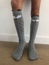 Load image into Gallery viewer, Racoon socks