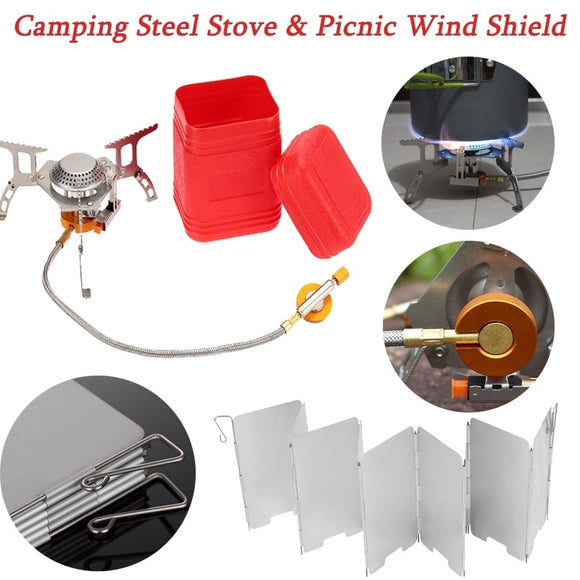 Foldable Gas Stove for Outdoor Camping