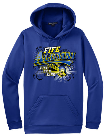 Fife High School Alumni Royal Blue Hoodie #30069