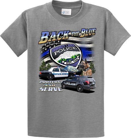 "Bonney Lake Police Department T-Shirt ""Back the Blue"" #33825"