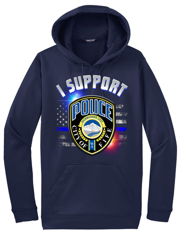 "Fife Police Department Morale Hoodie ""I support"" #33833"