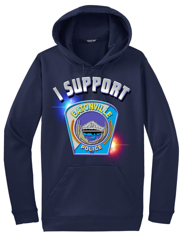 "Eatonville Police Department Morale Hoodie ""I support"" #33841"