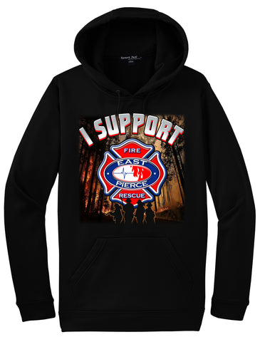 """Sumner Grade Fire"" East Pierce Fire & Rescue Morale Hoodie ""I support"" #33863"