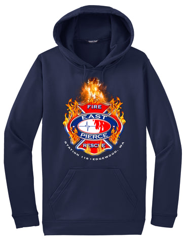 "Edgewood Fire Department Morale Hoodie ""I support"" #33878"