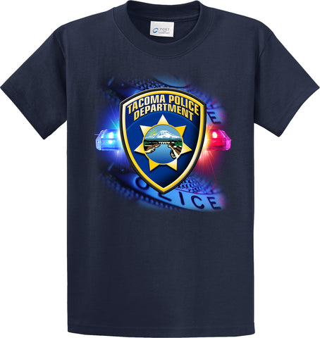 "Tacoma Police Department ""Off Duty"" Blue T-Shirt  #33980"