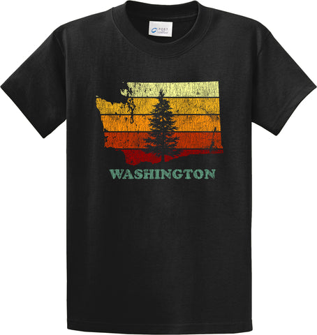 Retro Washington State T-Shirt  #34188