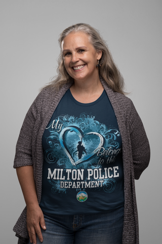 "Milton Police T-Shirt ""My Heart""#33487"