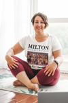 Milton Elementary Mrs. Kitts Class of 1980, White T-Shirt