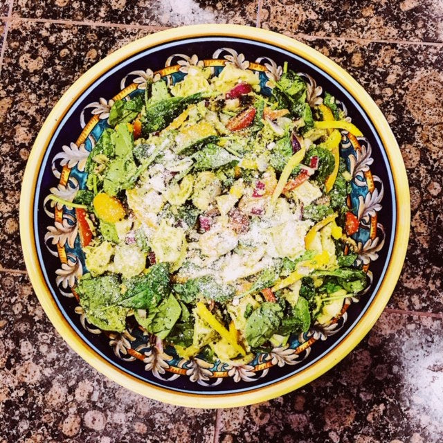 Pesto Tortellini Summer Salad Recipe