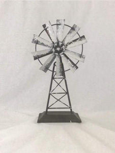 Warren Ranch and Home  Metal Accessories Decorative Metal Windmill Farmhouse Decor