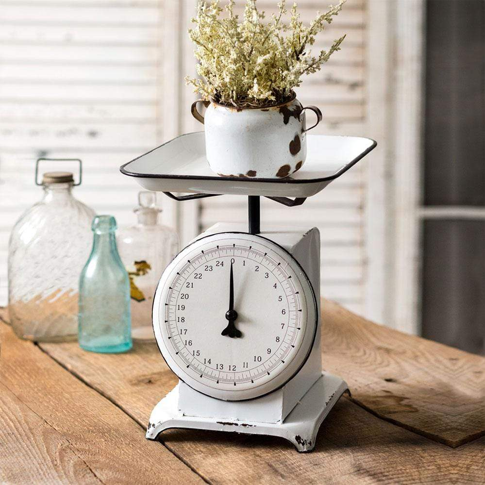 Warren Ranch and Home  Metal Accessories Decorative Produce Scale