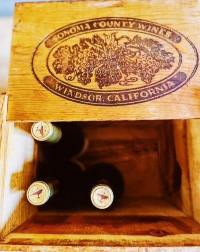 Warren Ranch and Home  Wood Products Vintage Wood Crate From Sonoma County