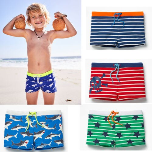 Fun In The Sun Swim Trunks