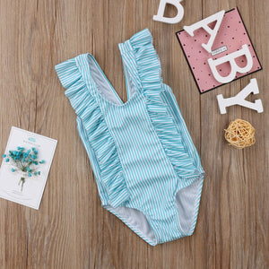 Beach Time Ruffled Swimsuit