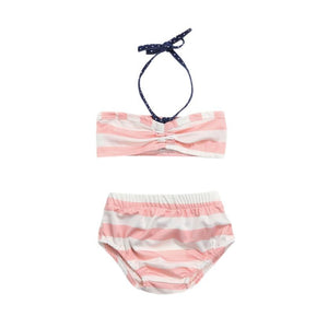 Vitamin Sea Striped Bikini