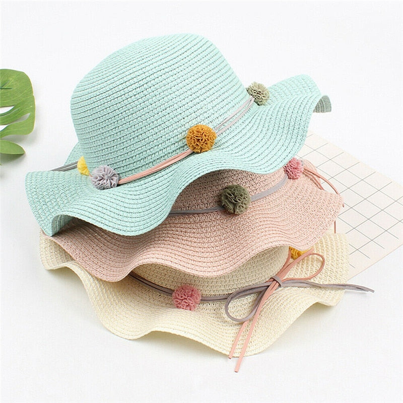 Little Sunshine Wide-Brim Hat