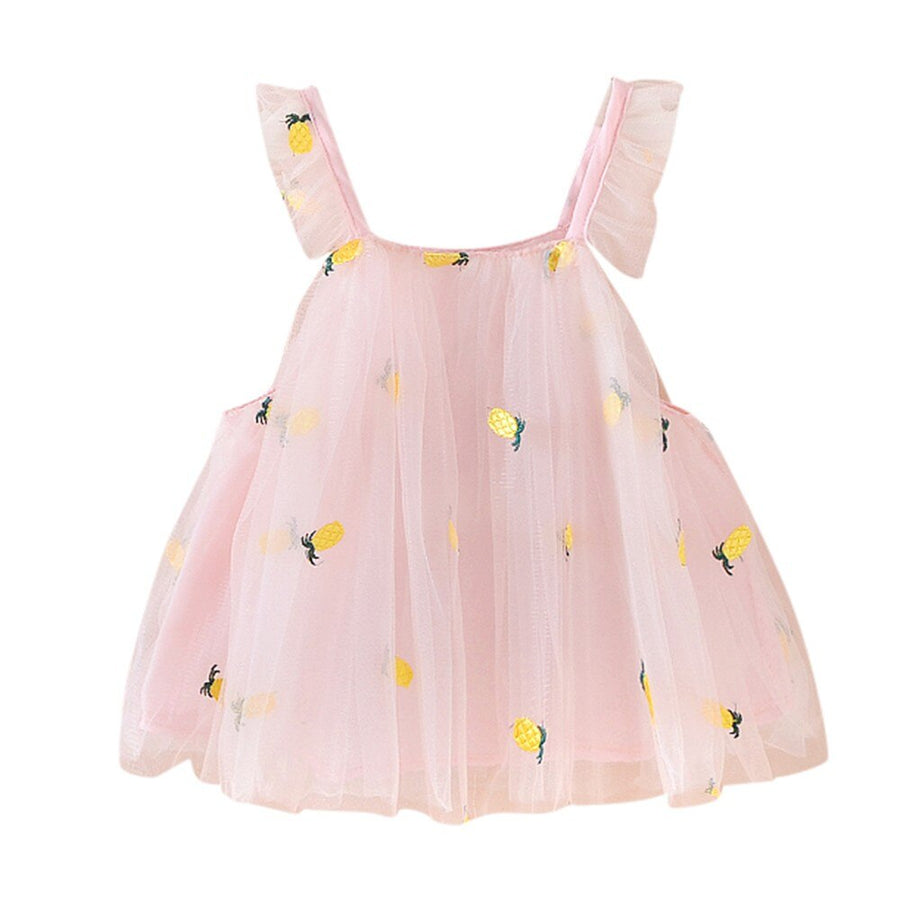In Season Pineapple Dress