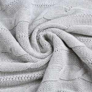 Snuggle Up Knitted Blanket
