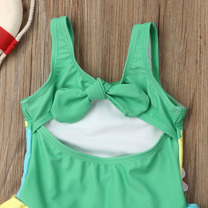 Tropical Getaway Parrot Swimsuit