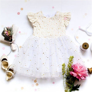 Dreamy Star Ruffle Dress