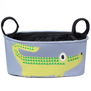 Cartoon Animal Stroller Organizer Baskets